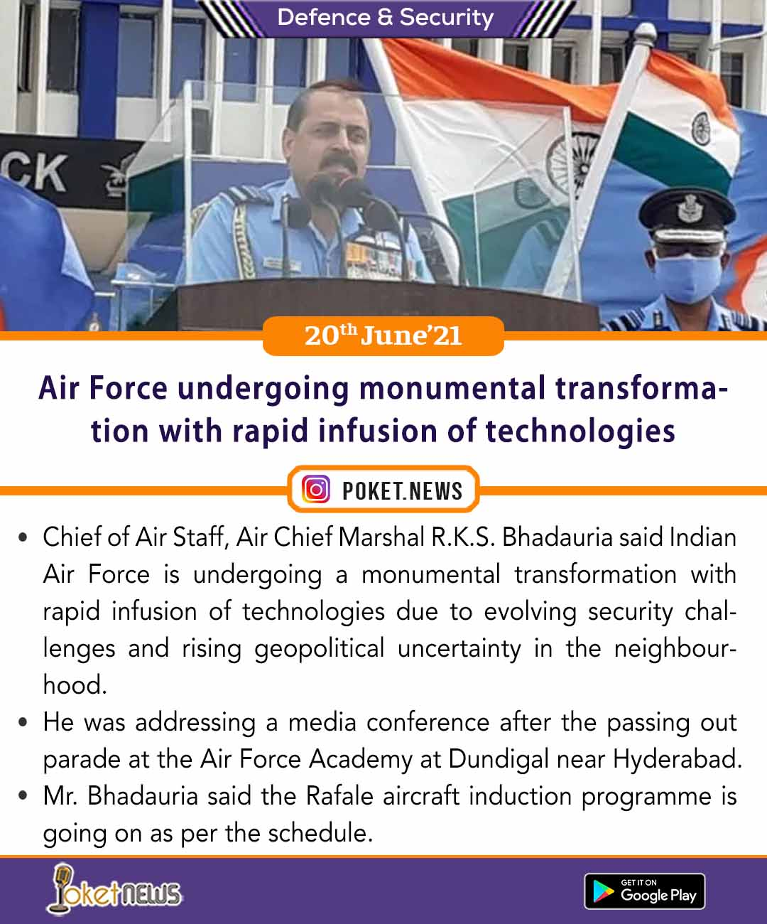 Air Force undergoing monumental transformation with rapid infusion of technologies